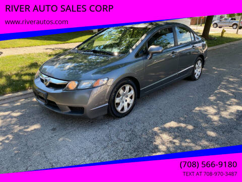 2010 Honda Civic for sale at RIVER AUTO SALES CORP in Maywood IL