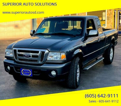 2011 Ford Ranger for sale at SUPERIOR AUTO SOLUTIONS in Spearfish SD