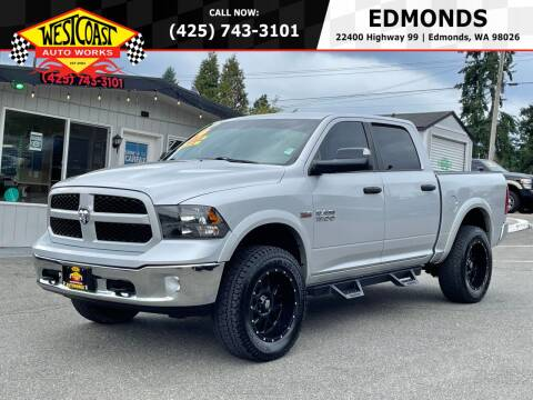 2014 RAM Ram Pickup 1500 for sale at West Coast Auto Works in Edmonds WA