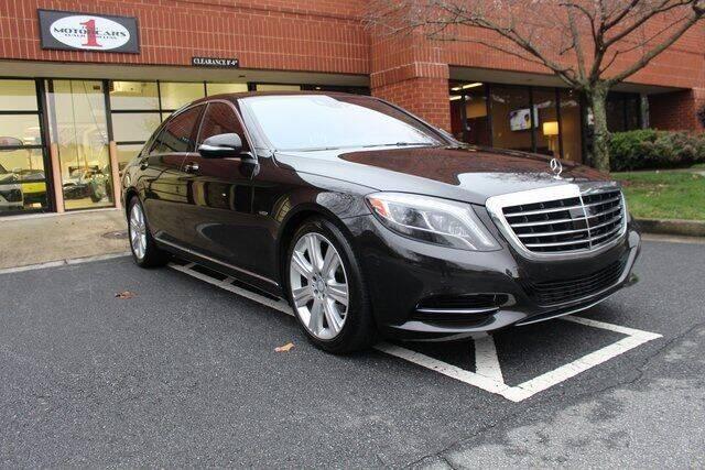 2014 Mercedes-Benz S-Class for sale at Team One Motorcars, LLC in Marietta GA