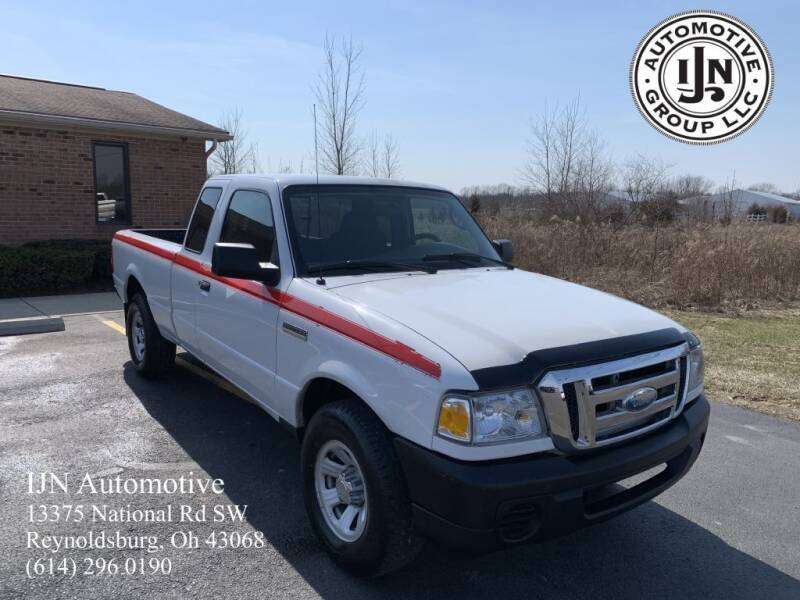 2009 Ford Ranger for sale at IJN Automotive Group LLC in Reynoldsburg OH