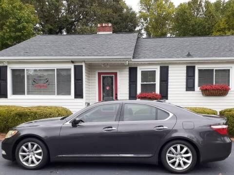 2008 Lexus LS 460 for sale at SIGNATURES AUTOMOTIVE GROUP LLC in Spartanburg SC