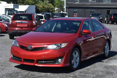 2012 Toyota Camry for sale at Broadway Garage of Columbia County Inc. in Hudson NY