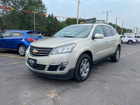 2016 Chevrolet Traverse for sale at Affordable Auto Sales in Webster WI