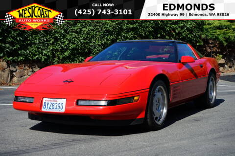 1992 Chevrolet Corvette for sale at West Coast Auto Works in Edmonds WA
