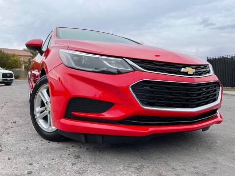 2017 Chevrolet Cruze for sale at Boktor Motors in Las Vegas NV