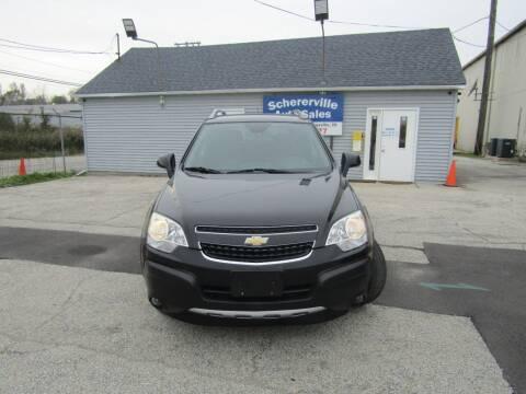 2013 Chevrolet Captiva Sport for sale at SCHERERVILLE AUTO SALES in Schererville IN