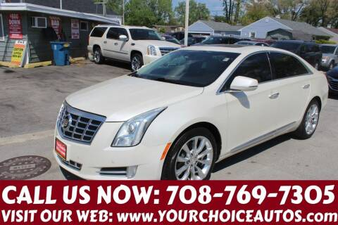 2013 Cadillac XTS for sale at Your Choice Autos in Posen IL
