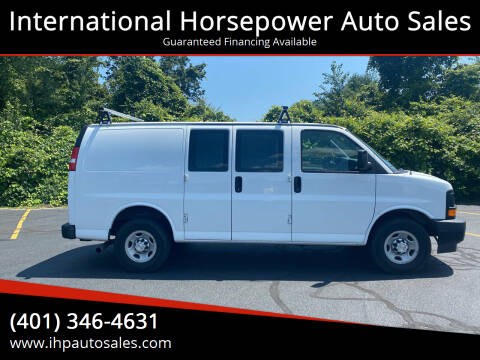 2017 Chevrolet Express Cargo for sale at International Horsepower Auto Sales in Warwick RI