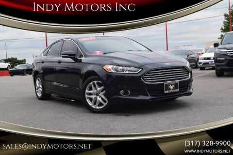 2015 Ford Fusion for sale at Indy Motors Inc in Indianapolis IN