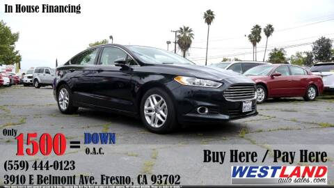 2014 Ford Fusion for sale at Westland Auto Sales in Fresno CA