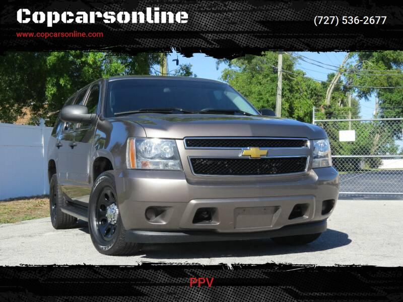 2013 Chevrolet Tahoe for sale at Copcarsonline in Largo FL