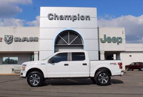 2019 Ford F-150 for sale at Champion Chevrolet in Athens AL