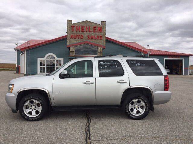 2012 Chevrolet Tahoe for sale at THEILEN AUTO SALES in Clear Lake IA