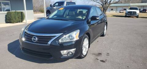 2015 Nissan Altima for sale at Jacks Auto Sales in Mountain Home AR