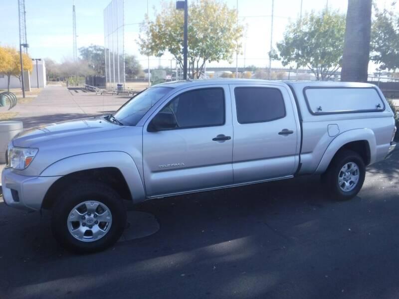 2013 Toyota Tacoma for sale at J & E Auto Sales in Phoenix AZ