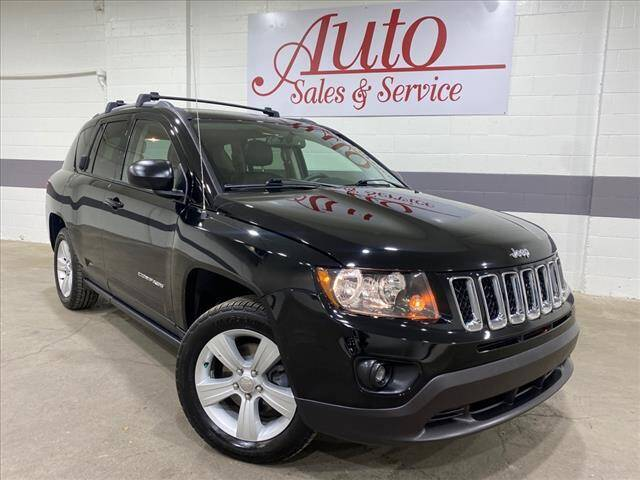 2017 Jeep Compass for sale at Auto Sales & Service Wholesale in Indianapolis IN