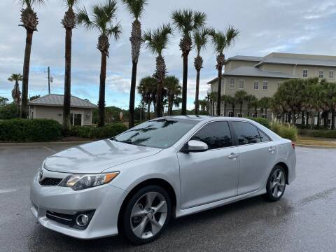 2014 Toyota Camry for sale at Gulf Financial Solutions Inc DBA GFS Autos in Panama City Beach FL