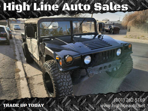 1994 AM General Hummer for sale at High Line Auto Sales in Salt Lake City UT