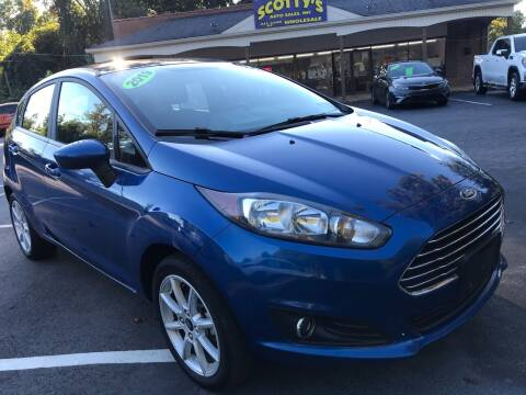 2019 Ford Fiesta for sale at Scotty's Auto Sales, Inc. in Elkin NC
