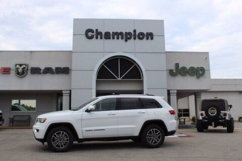 2020 Jeep Grand Cherokee for sale at Champion Chevrolet in Athens AL