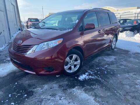 2017 Toyota Sienna for sale at Fine Auto Sales in Cudahy WI