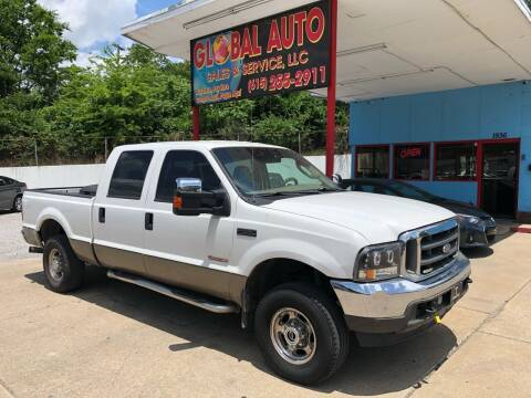 2004 Ford F-250 Super Duty for sale at Global Auto Sales and Service in Nashville TN