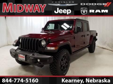 2021 Jeep Gladiator for sale at MIDWAY CHRYSLER DODGE JEEP RAM in Kearney NE