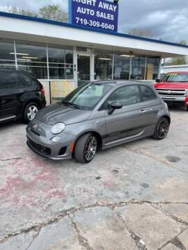 2013 FIAT 500 for sale at Right Away Auto Sales in Colorado Springs CO
