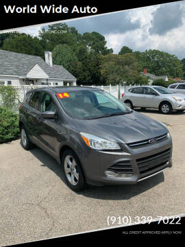 2014 Ford Escape for sale at World Wide Auto in Fayetteville NC