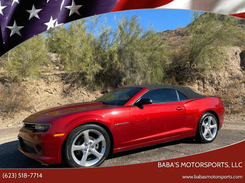 2015 Chevrolet Camaro for sale at Baba's Motorsports, LLC in Phoenix AZ