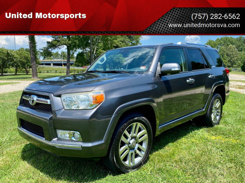 2013 Toyota 4Runner for sale at United Motorsports in Virginia Beach VA