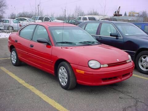 1998 Dodge Neon for sale at VOA Auto Sales in Pontiac MI