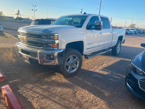 2015 Chevrolet Silverado 2500HD for sale at STANLEY FORD ANDREWS in Andrews TX