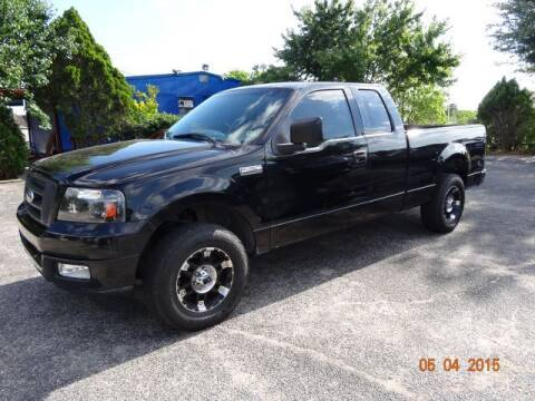 2004 Ford F-150 for sale at HOUSTON'S BEST AUTO SALES in Houston TX