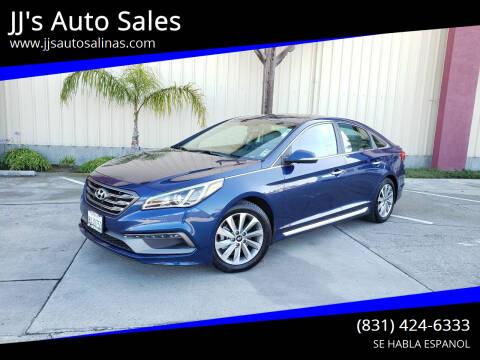 2017 Hyundai Sonata for sale at JJ's Auto Sales in Salinas CA