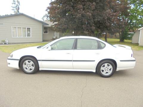 2003 Chevrolet Impala for sale at Engels Autos Inc in Ramsey MN