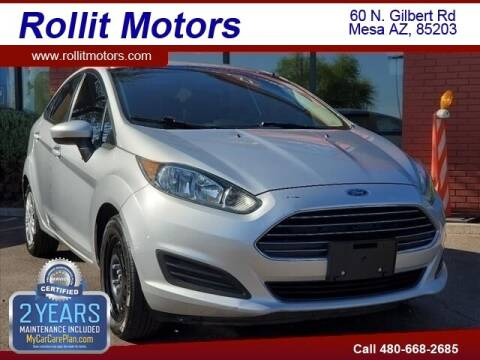 2014 Ford Fiesta for sale at Rollit Motors in Mesa AZ