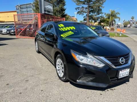 2018 Nissan Altima for sale at AUTOMEX in Sacramento CA