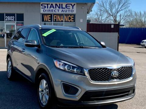 2016 Kia Sorento for sale at Stanley Automotive Finance Enterprise - STANLEY DIRECT AUTO in Mesquite TX
