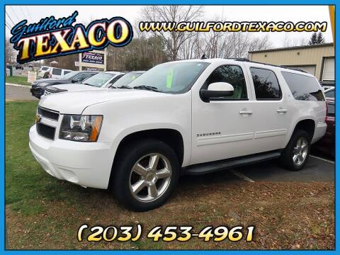 2013 Chevrolet Suburban for sale at GUILFORD TEXACO in Guilford CT
