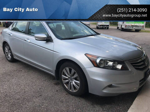2012 Honda Accord for sale at Bay City Auto's in Mobile AL