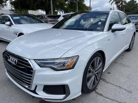2019 Audi A6 for sale at DORAL HYUNDAI in Doral FL