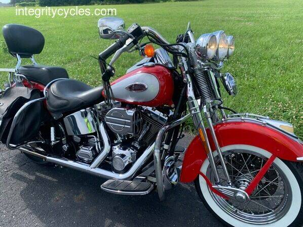 2002 Harley-Davidson Heritage Springer for sale at INTEGRITY CYCLES LLC in Columbus OH