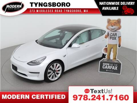 2019 Tesla Model 3 for sale at Modern Auto Sales in Tyngsboro MA