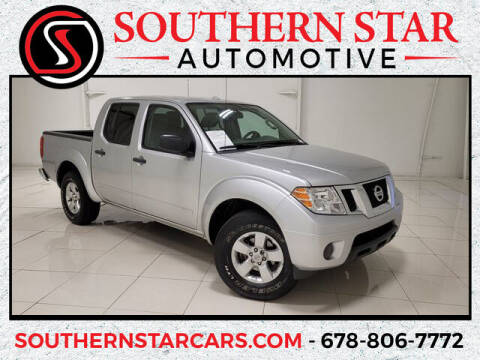 2012 Nissan Frontier for sale at Southern Star Automotive, Inc. in Duluth GA