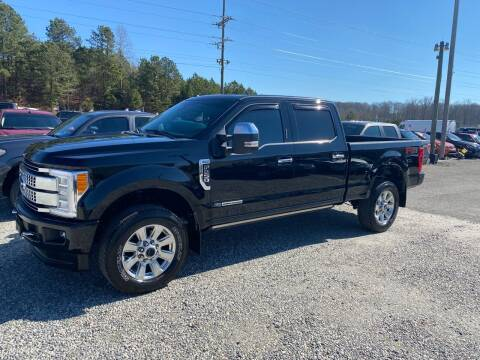 2018 Ford F-250 Super Duty for sale at Billy Ballew Motorsports in Dawsonville GA