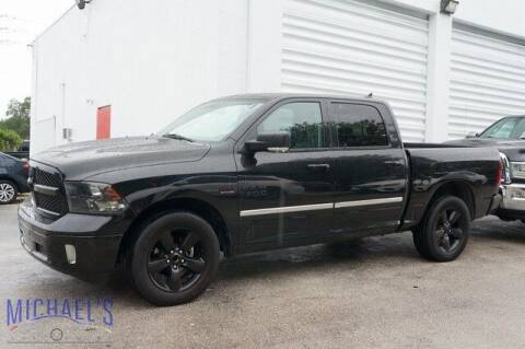 2018 RAM Ram Pickup 1500 for sale at Michael's Auto Sales Corp in Hollywood FL