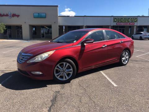 2011 Hyundai Sonata for sale at ALBUQUERQUE AUTO OUTLET in Albuquerque NM