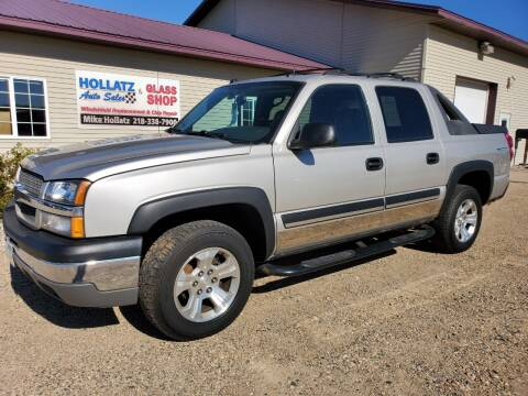 2004 Chevrolet Avalanche for sale at Hollatz Auto Sales in Parkers Prairie MN